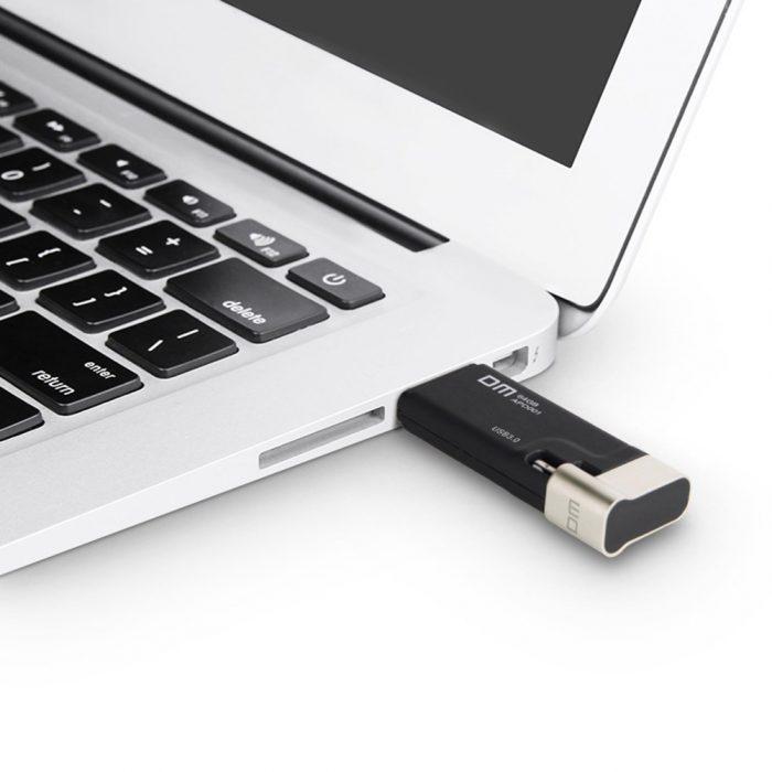 connection-PC-MAC-cle-USB-DM